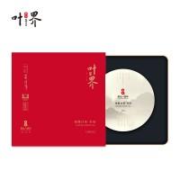 醉品叶界 吴月平大师代表作 寿眉饼 2013年 357g 礼盒白茶