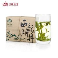 【2019头采茶】顶峰 西湖龙井  绿茶 一级250g 牛皮纸包茶