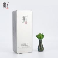 狮牌 西湖龙井 2019年明前茶 绿茶 一级 100g 银铁盒
