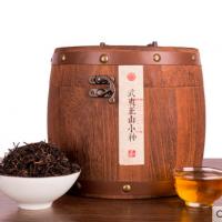 新茶品质武夷山正山小种红茶茶叶罐装大份量礼盒木桶散装