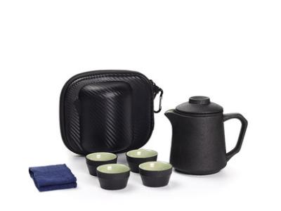 一壶四杯旅行茶具套装便携式包随身茶壶泡茶杯日式
