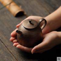 德化手工复古粗陶沏茶茶壶家用功夫茶具泡茶器创意陶瓷泡茶单壶小