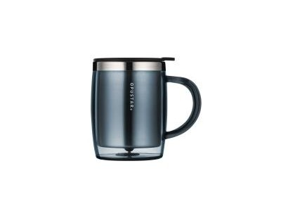 不锈钢保温马克杯 桌面商务咖啡杯